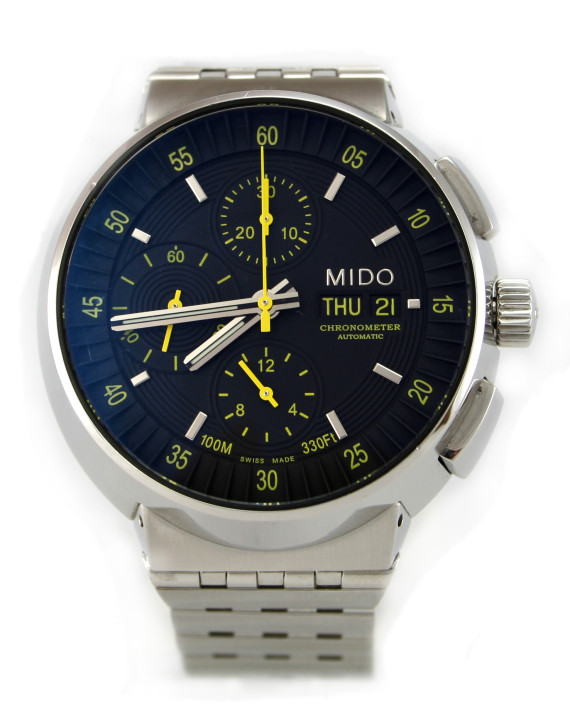 Good Watch Brands For Men >> MIDO 8360 All Dial Chronometer Day Date Men's Watch ...